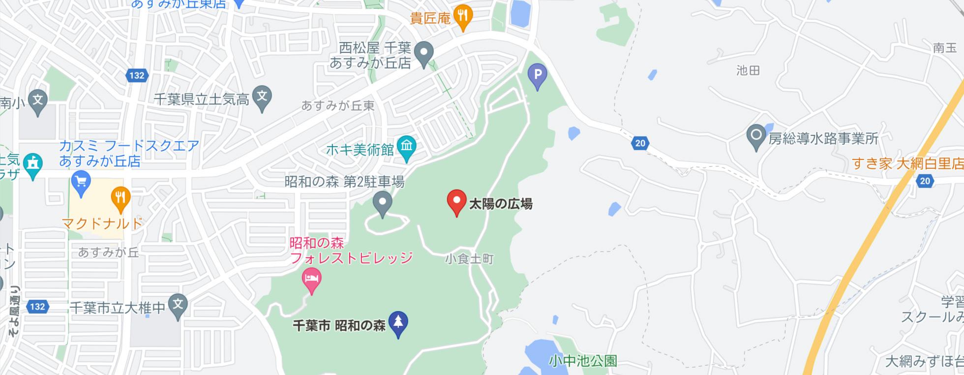 PARKCAMP IN ZOO 開演場所